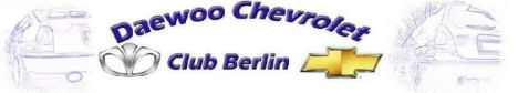 Banner des Chevrolet Club Berlin